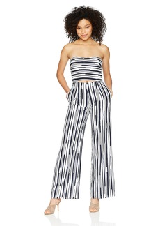 Lucca Couture Women's Reagan Strapless Cutout Jumpsuit