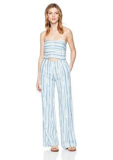 Lucca Couture Women's Reagan Strapless Cutout Jumpsuit