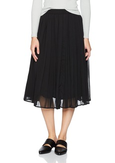 Lucca Couture Women's Sarah Pleated Midi Skirt
