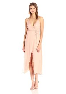 Lucca Couture Women's Sleeveless Midi Wrap Dress