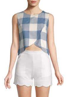 Lucca Couture Madilyn Cropped Top