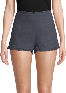 Lucca Couture Melissa Fringed Shorts
