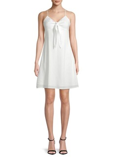 Lucca Couture Vivan Front-Tie Dress