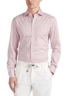 Luciano Barbera Men's Bengal-Striped Cotton Shirt