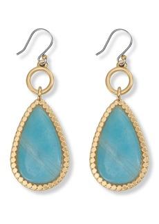 Lucky Brand Amazonite Drop Earrings