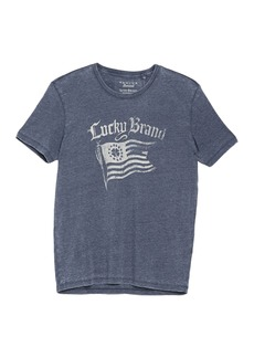 Lucky Brand American Flag Short Sleeve T-Shirt