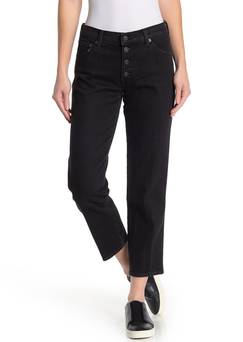 Lucky Brand Authentic Straight Cropped Leg Jeans