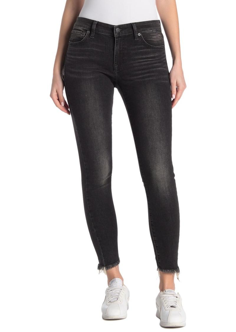 Lucky Brand Ava Frayed Hem Skinny Jeans