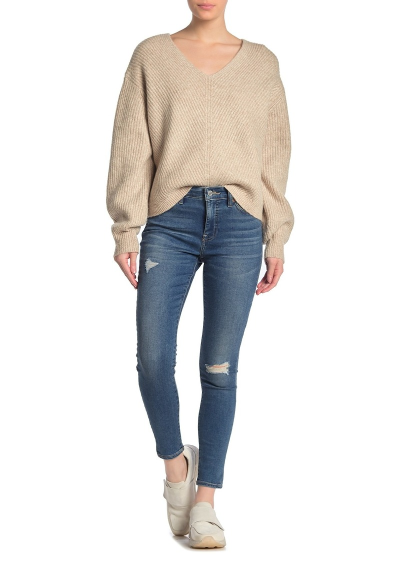 Lucky Brand Ava Super Skinny Distressed Jeans