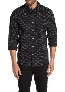 Lucky Brand Ballona Printed Classic Fit Shirt