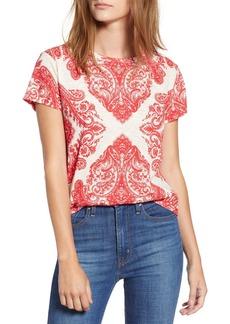 Lucky Brand Bandana Print T-shirt