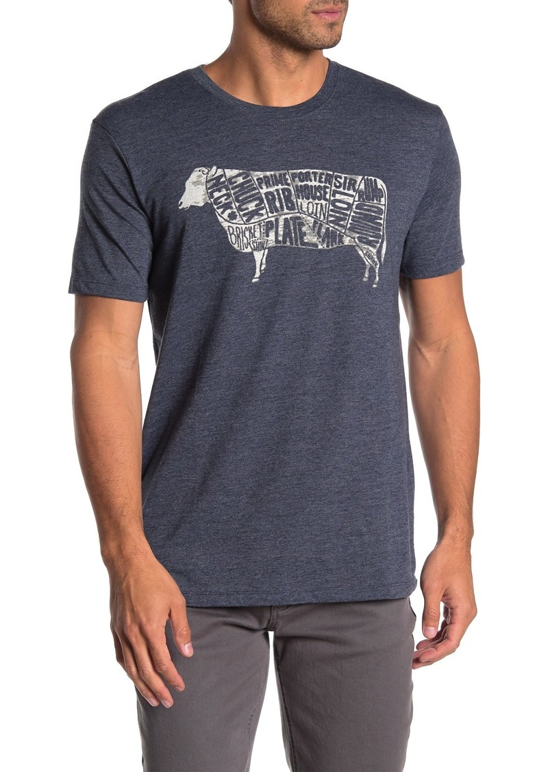 Lucky Brand Beef Parts Graphic T-Shirt