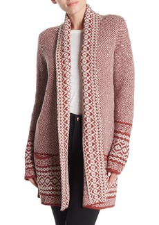 Lucky Brand Border Cardigan