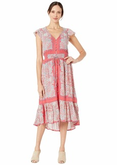Lucky Brand Border Print Felice Dress