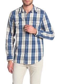 Lucky Brand Boulder Creek Indigo Twill Shirt Jacket