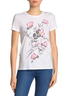 Lucky Brand Bouquet Graphic Tee