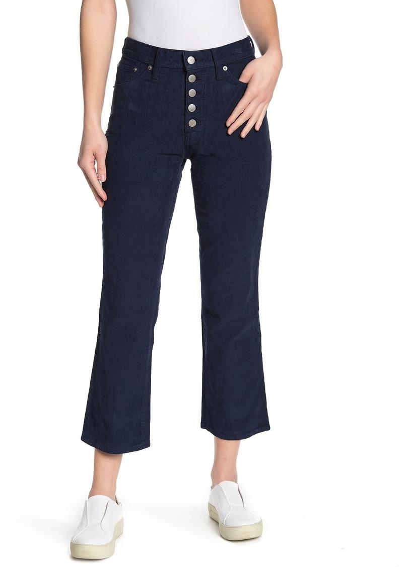 Lucky Brand Bridgette Corduroy Cropped Flare Pants (Regular & Plus Size)