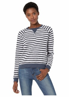Lucky Brand Brushed Stripe Sweatshirt