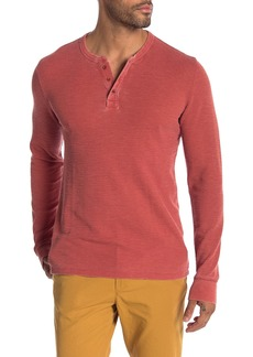 Lucky Brand Burnout Thermal Henley
