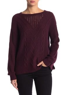 Lucky Brand Cable Knit Sweater
