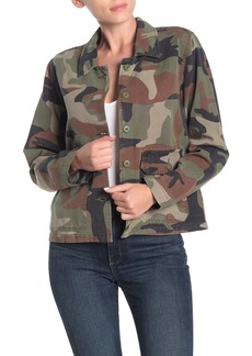 Lucky Brand Camouflage Utility Shirt