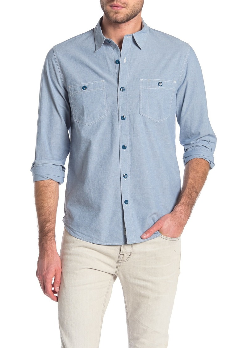 Lucky Brand Chambray Work Shirt