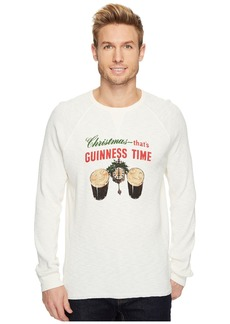 Lucky Brand Christmas Guinness Time Graphic Thermal