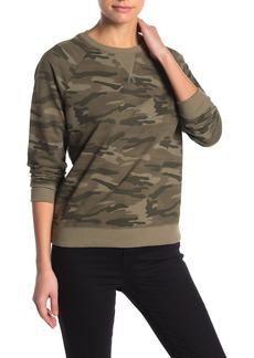 Lucky Brand Classic Camo Pullover Sweatshirt
