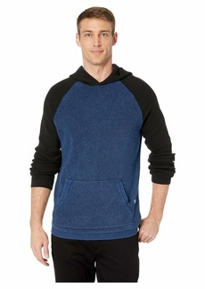 Lucky Brand Color Block Thermal Hoodie Sweater