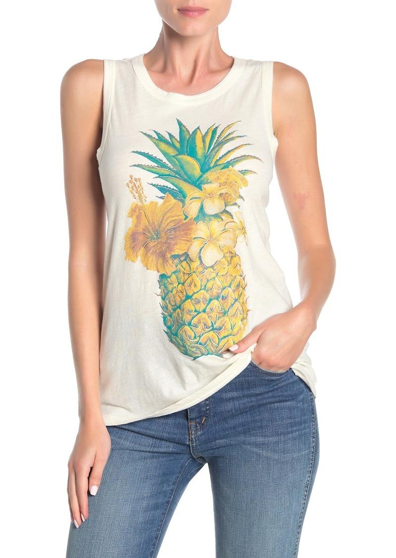 Lucky Brand Pineapple Tank