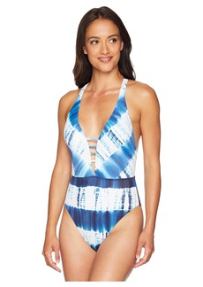 Lucky Brand Costa Azul One-Piece