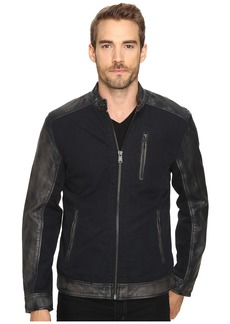 Lucky Brand Cotton Leather Jacket
