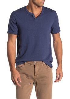 Lucky Brand Cross Dye Notch T-Shirt