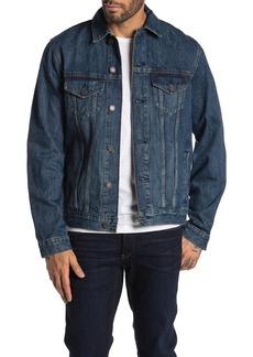 Lucky Brand Dark Blue Trucker Jacket