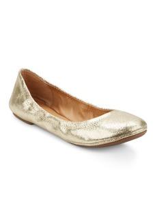 Lucky Brand Elysia Metallic Leather Ballet Flats