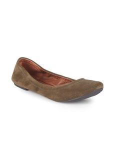 Lucky Brand Elysia Suede Ballet Flats