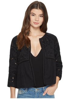 Lucky Brand Embroidered Jacket