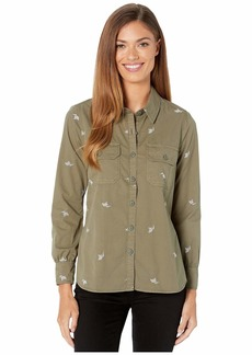 Lucky Brand Embroidered Shirt Jacket
