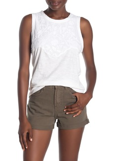 Lucky Brand Appliqu? Tank Top