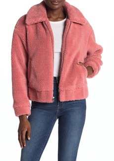 Lucky Brand Faux Shearling Jacket