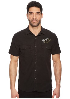 Lucky Brand Fender Embroidered Shirt