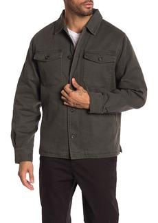 Lucky Brand Fleece Lined Twill Jacket