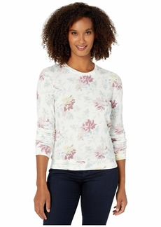 Lucky Brand Floral Printed Sweatshirt