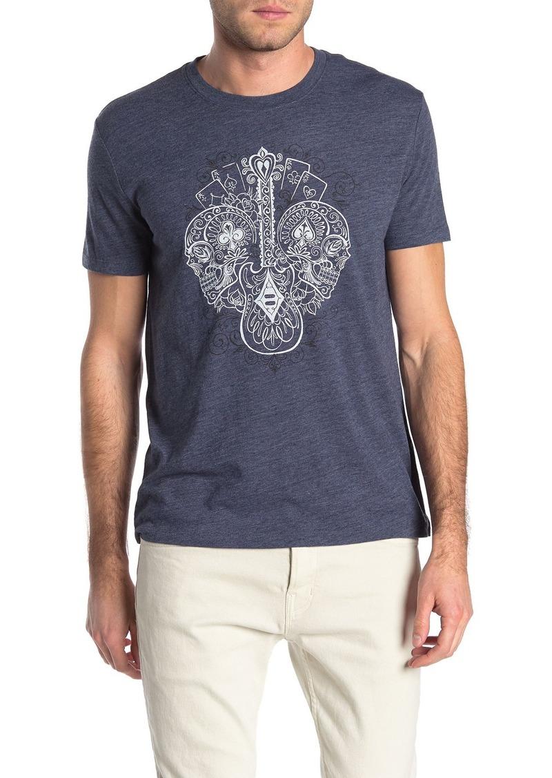 Lucky Brand Gambling Skulls T-Shirt