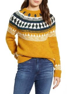 Lucky Brand Geo Pattern Sweater