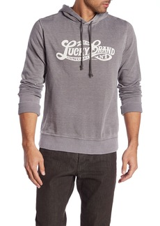 Lucky Brand Graphic Logo Fleece Hoodie