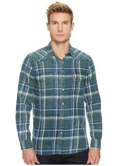 Lucky Brand Green Indigo Shirt