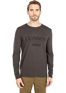 Lucky Brand Guiness Black Long Sleeve Tee