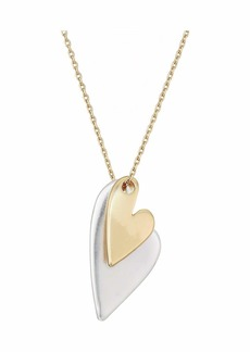 Lucky Brand Heart Charm Necklace