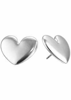 Lucky Brand Heart Stud Earrings